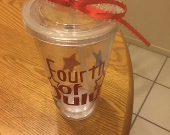 Fourth of July Tumbler