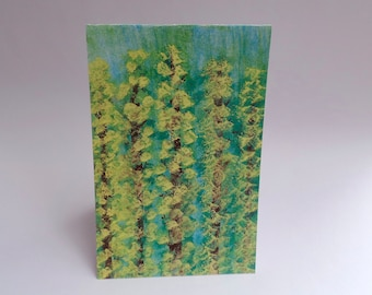 "Watercolor ""Trees in Summer"" Card Sets 4x6inch"