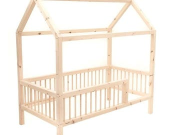 Montessori Bed baby cot bed bed baby cot model Happy bed bunk Bed