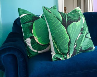 Decorative pillow cover in Brazilliance by Dorothy Draper.