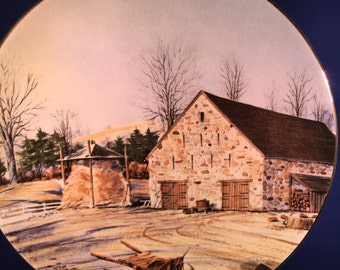 1983 The Vanishing American Barn By Harris Hien Bucks County Barn Plate