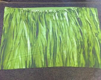 Hula Skirt Ti Leaf Silk Georgette Wrap 44x72