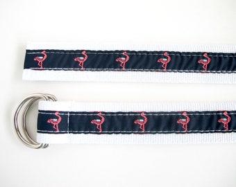 Vintage Flamingo Belt, Summer Accessories