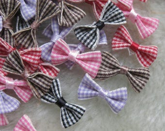Apply to sew knots (10 x) polyester gingham