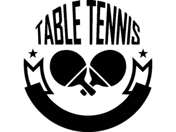 Table tennis olympic logo