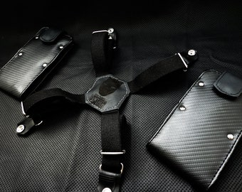 BLACK PANTHER LIMITED Edition Smartphone & Wallet Holster