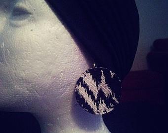 Zig Zag Elegance Earrings