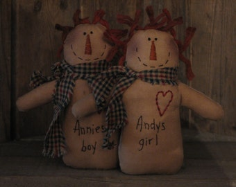 Annie and Andy set
