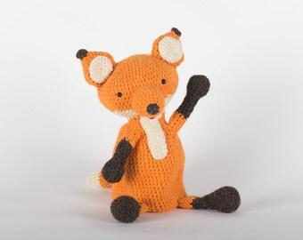 Marionnette renard Amigurumi au Crochet