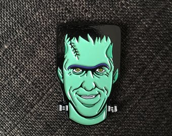 HerMan Enamel Pin