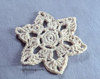 Crochet coaster pattern- flower coaster no93