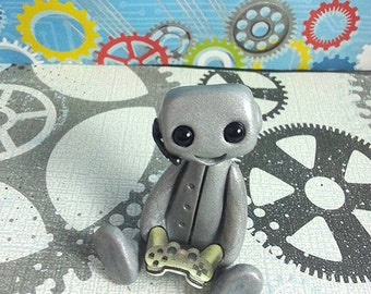 Gamer Robot (Grey)