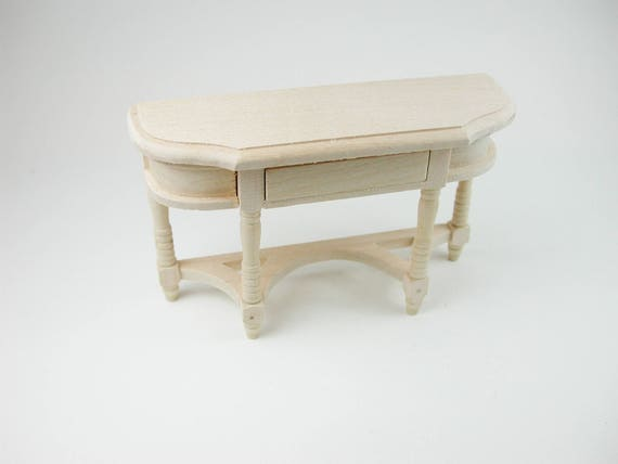 Console table, Doll Room, Doll house, Dollhouse miniatures, cribs, miniatures, Model # v 22066