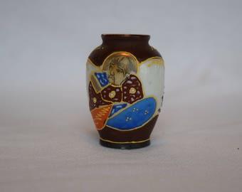 Occupied Japan Miniature Satsuma Vase