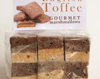 Fresh Gourmet Artisan English Toffee Marshmallows **Gluten Free**