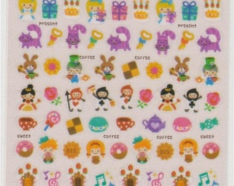 Fairy Tale Stickers - Japanese Stickers - Mind Wave Stickers - Reference A4846-49A6548-49