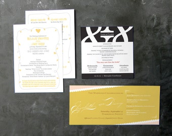 Wedding Programs (various)
