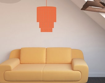 Modern Chandelier - Vinyl Wall Decal