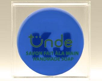 Custom monogram handmade soap