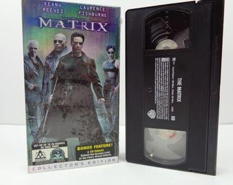 The Matrix VHS Tape