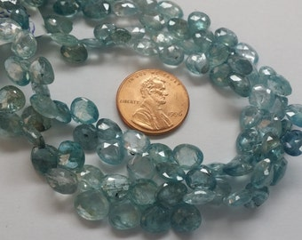 Natural Zircon Hearts Faceted