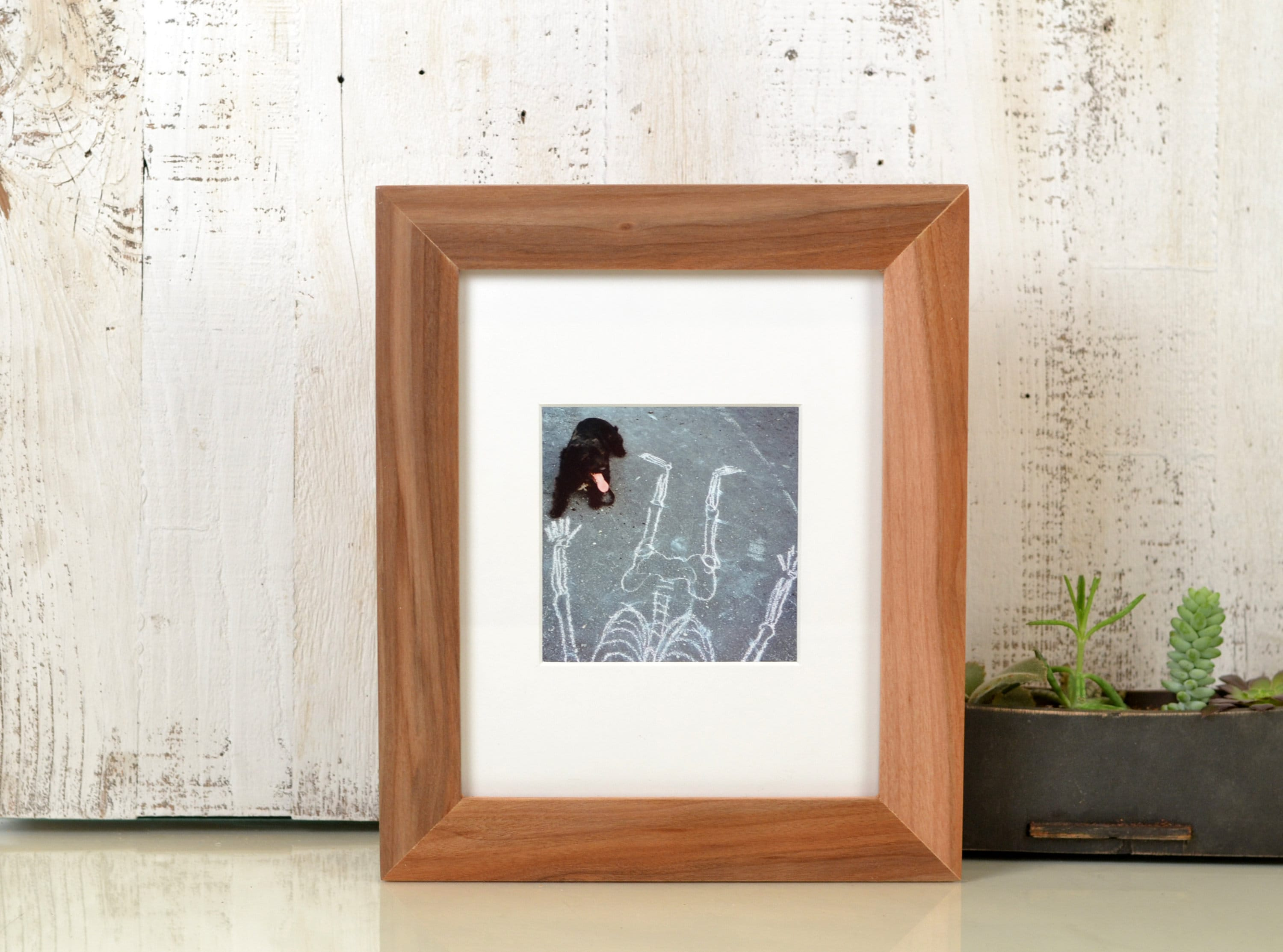 Solid Natural WILLOW Picture Frame 1.5 Wide Style Choose your large ...