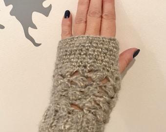 Fingerless Gloves - Hand Crocheted