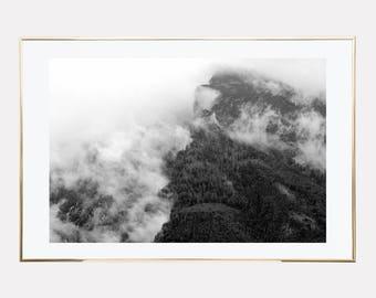 scandinavian print, mountains poster print, forest poster print, affiches scandinave, scandinavian poster, printable art, downloadable print