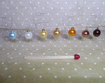 Boule de Noel  8 mm