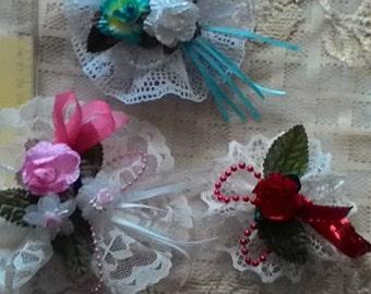Beautiful lace ornaments