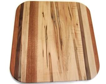Wood Cutting Board, Rectangle Board, Cutting Board, Rustic Cutting Board, Chopping Board, Maple Chopping Board