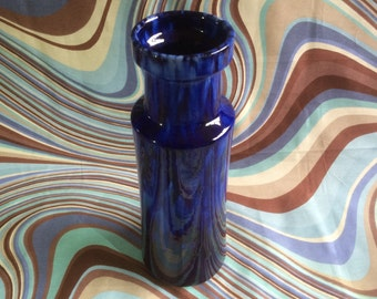 Mid Century Vintage West German Scheurich Vase. Unusual color
