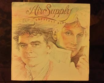 1983 Air Supply Album Greatest Hits Record