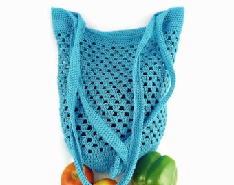 Market Bag, Shopping Bag, Tote Bag, Shoulder Bag, Crochet Bag, Beach Bag, Reusable Bag, Hipster Bag, Boho Bag, Cotton Bag, Grocery Bag