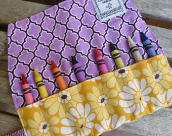 Crayon Wrap - Park Slope Blooms (#126)