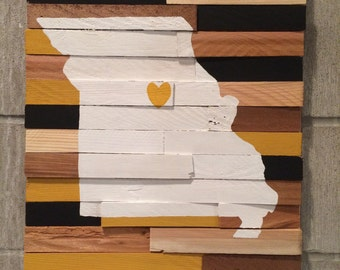 Ready to Ship - College Wall Hanging - University of Missouri