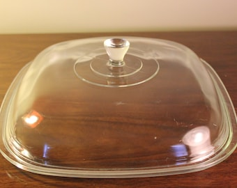1962 - 1972 Vintage - Pyrex for Corning P 12 - C LID / Cover - Replacement -Fits Corning P16B, P22B, P34B, P84B, P85B - Very Good Condition