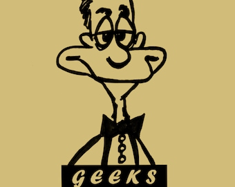 Geeks rule, sign, saying, bow tie, male, metal art wall decor