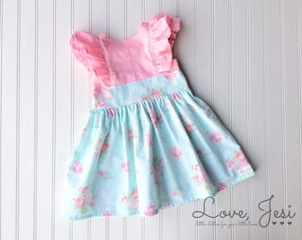 Easter Dress Toddler, Girls Easter Dress, Girls Spring Dress, Toddler Spring Dress, Newborn Baby Dress, Easter Dress Baby, Baby Girl Easter
