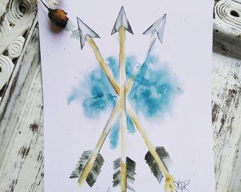 Unity arrows print