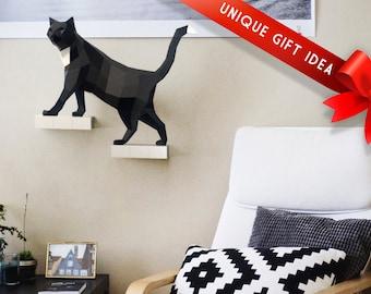 DIY Cat Papercraft Pre-cut KIT - Premium Matte Paper