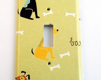 Switch Plate Light Switch Cover Wall Decor Light Switchplate  in Good Dog (156S)
