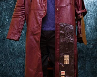 Star Lord handmade leather coat