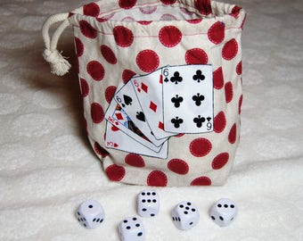 Tokens or dice bag