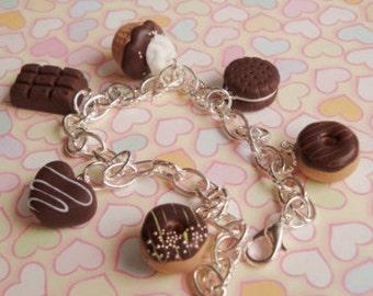 Chocolate scented bracelet