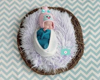 Newborn Birdie Hat - Spring Hat - Photography Prop