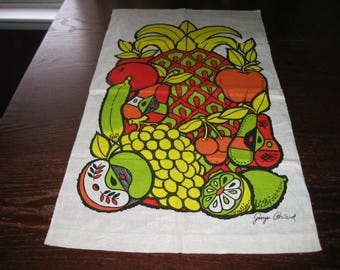 George Briard Linen Tea Towel
