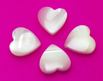 Freshwater Mother of Pearl Hearts - HEA0005N