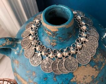 Boho Charm and Bell Bracelet