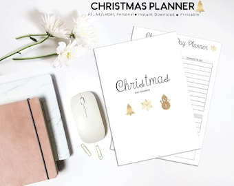 Christmas Planner, Holiday Planner, Festive Planner, Christmas Planning, Printable Planner, Christmas Printables, Christmas Budget, Xmas